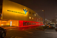 Bon Secours Galway goes Red for World Heart Day support Croi  Photo:Andrew Downes, xposure