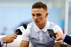 England's Kieran Trippier speaks to the media - Mandatory by-line: Matt McNulty/JMP - 29/08/2017 - FOOTBALL - St George's Park National Football Centre - Burton-upon-Trent, England - England Training and Press Conference