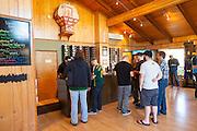 Sake' One tasting room in Forest Grove Oregon. Sake' One is the pony Kura or sake brewery / distillery in North America.