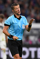 FUSSBALL UEFA Nations League in Muenchen Deutschland - Frankreich       06.09.2018 Schiedsrichter Daniele Orsato DFB regulations prohibit any use of photographs as image sequences and/or quasi-video.