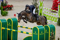 MÄNDLI Beat (SUI), Debatsja<br /> Genf - CHI Geneve Rolex Grand Slam 2019<br /> Prix des Communes Genevoises<br /> 2-Phasen-Springen<br /> International Jumping Competition 1m50<br /> Two Phases: A + A, Both Phases Against the Clock<br /> 13. Dezember 2019<br /> © www.sportfotos-lafrentz.de/Stefan Lafrentz