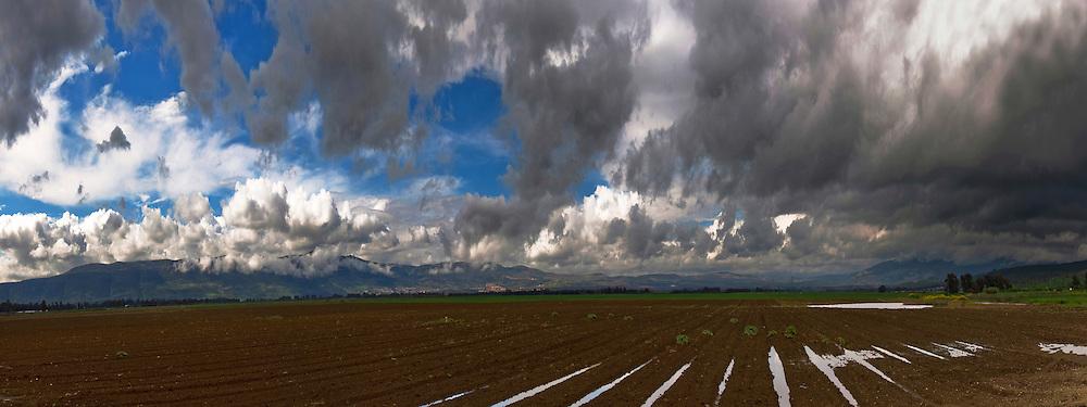 Israel, Galilee panorama