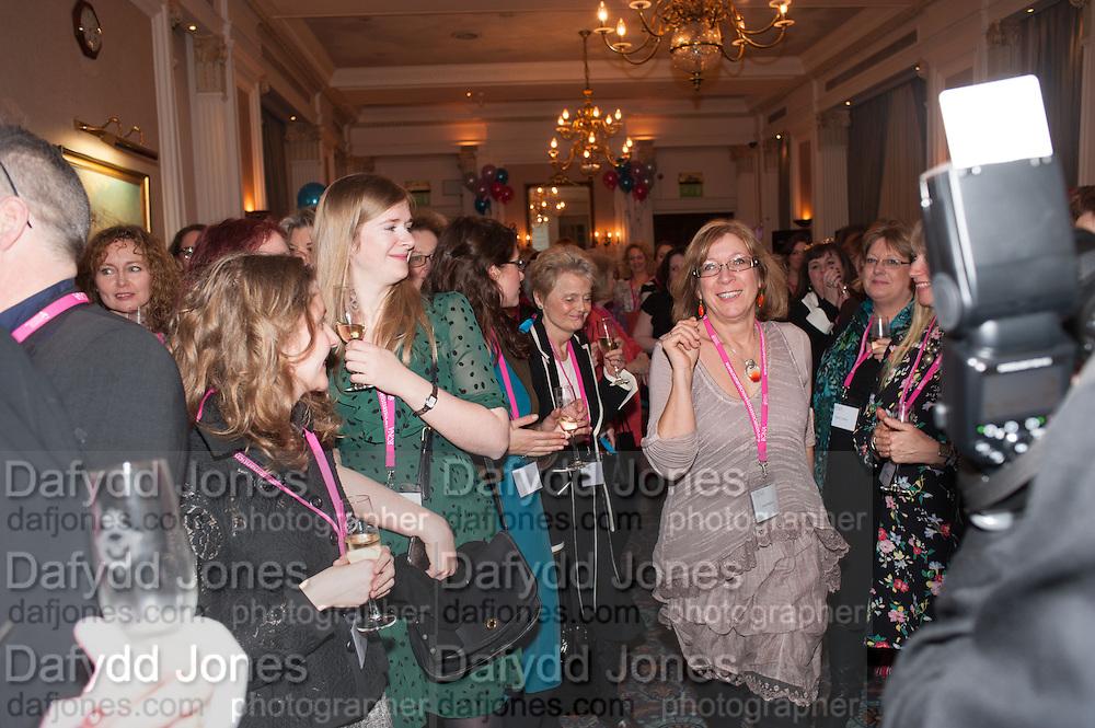 SARAH MALLORY, Romantic Novelists Association The RoNas Awards - RICHARD MADELEY & JUDY FINNIGAN - ballroom of the RAF Club, 128 Piccadilly, London. 26 February 2013