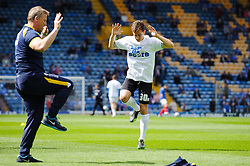 Tom Lockyer (ENG) of Bristol Rovers warms up before the match - Photo mandatory by-line: Rogan Thomson/JMP - 07966 386802 - 19/04/2014 - SPORT - FOOTBALL - Fratton Park, Portsmouth - Portsmouth FC v Bristol Rovers - Sky Bet Football League 2.