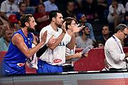 Marco Belinelli, Christian Burns<br /> Nazionale Italiana Maschile Senior<br /> Eurobasket 2017 - Final Phase - Round of 16<br /> Finlandia Italia Finland Italy<br /> FIP 2017<br /> Istanbul, 09/09/2017<br /> Foto M.Ceretti / Ciamillo - Castoria