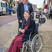 NLD/Naarden//20170414 - Matthaus Passion in de grote kerk van Naarden, Jetta Klijnsma en haar partner Ard van Rijn