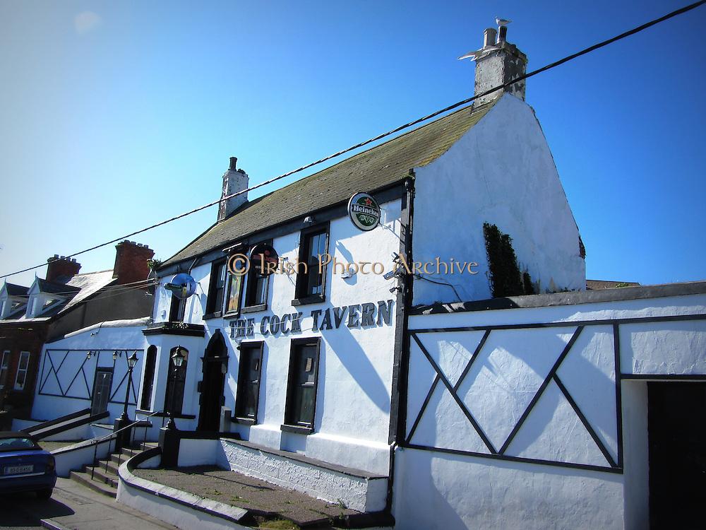 Cock Tavern, Howth, Dublin, est c.1780,