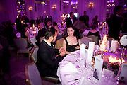 EVGENY LEBEDEV; REBECCA HALL;, 56th London Evening Standard Theatre Awards. Savoy Hotel. London. 28 November 2010.  -DO NOT ARCHIVE-© Copyright Photograph by Dafydd Jones. 248 Clapham Rd. London SW9 0PZ. Tel 0207 820 0771. www.dafjones.com.