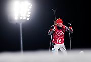 PYEONGCHANG-GUN, SOUTH KOREA - FEBRUARY 20: Emiliya Yordanova of Bulgaria during the Biathlon 2x6km Women + 2x7.5km Men Mixed Relay at Alpensia Biathlon Centre on February 20, 2018 in Pyeongchang-gun, South Korea. Foto: Nils Petter Nilsson/Ombrello                    ***BETALBILD***