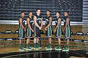 Stevenson women's and men's basketball team pics.