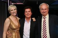 Annie Lennox, Simon Fuller and Paul Gambaccini