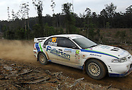 Bruce Fullerton & Hugh Reardon-Smith.Motorsport-Rally/2008 Coffs Coast Rally.Heat 2.Coffs Harbour, NSW.16th of November 2008.(C) Joel Strickland Photographics