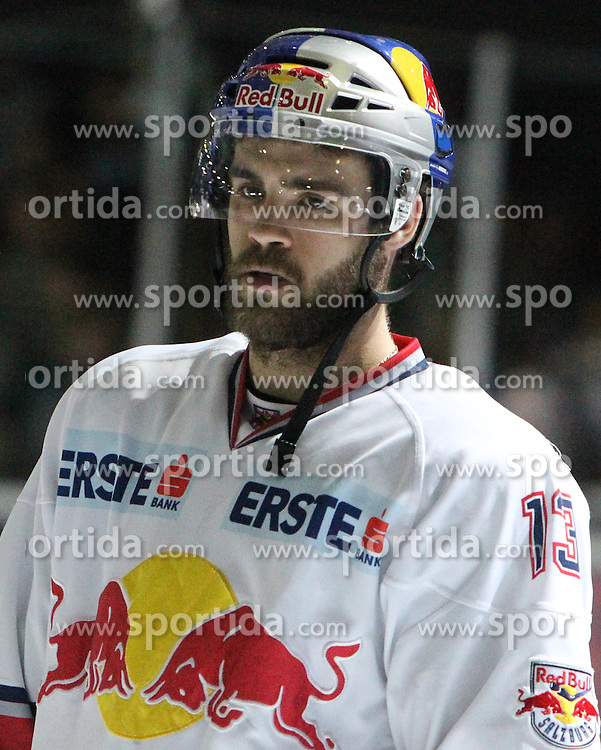 07.04.2011, Volksgarten Arena, Salzburg, AUT, EBEL, FINALE, EC RED BULL SALZBURG vs EC KAC, im Bild Michael Schiechl, (EC RED BULL SALZBURG, #13)// during the EBEL Eishockey Final, EC RED BULL SALZBURG vs EC KAC at the Volksgarten Arena, Salzburg, 04/03/2011, EXPA Pictures © 2011, PhotoCredit: EXPA/ D. Scharinger