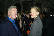 Sir Terence and Lady Conran, The Esquire and Glenmorangie Man At the Top Awards 2007. The Haymarket Hotel London. 5 November 2007. -DO NOT ARCHIVE-© Copyright Photograph by Dafydd Jones. 248 Clapham Rd. London SW9 0PZ. Tel 0207 820 0771. www.dafjones.com.