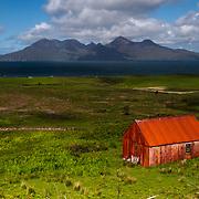 Rum from Cleadale, Isle of Eigg