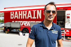 Gorazd Stangelj, sports director of Team Bahrain Merida one day prior to the 25th Tour de Slovenie 2018 cycling race, on June 12, 2018 in Hotel Livada, Moravske Toplice, Slovenia. Photo by Vid Ponikvar / Sportida