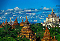 The pagodas of Bagan (Pagan), Burma (Myanmar)