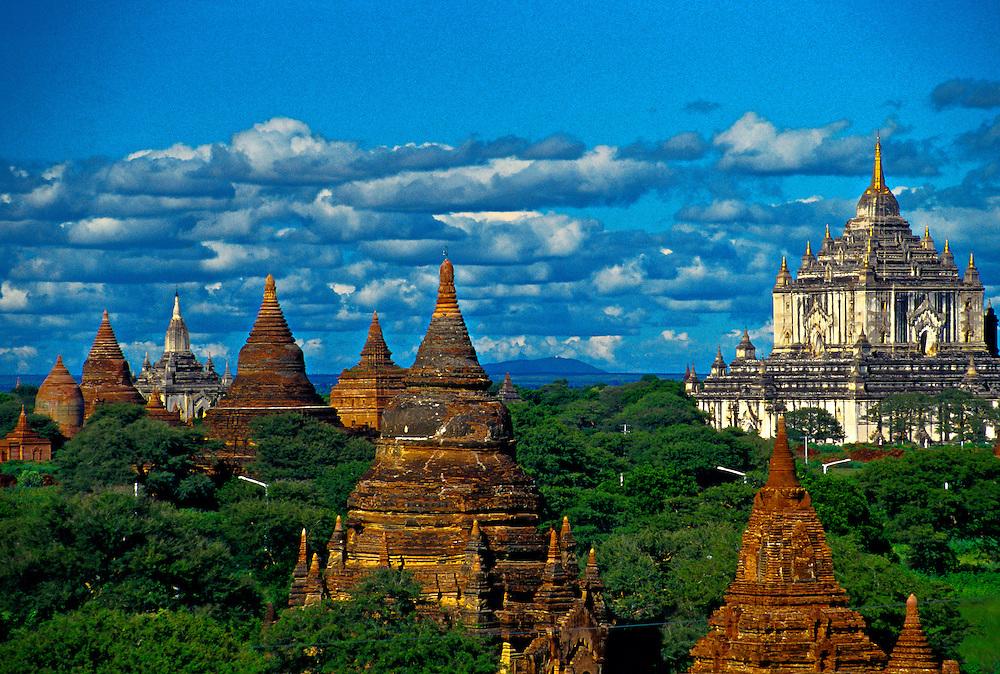 The pagodas of Bagan (Pagan), Burma (Myanmar)