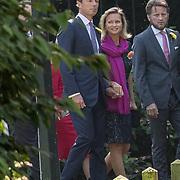 NLD/Den Haag/20190822 - Uitvaart Prinses Christina, Prinses Carolina met partner Albert Brenninkmeijer