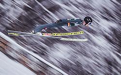 03.02.2019, Heini Klopfer Skiflugschanze, Oberstdorf, GER, FIS Weltcup Skiflug, Oberstdorf, im Bild Clemens Aigner (AUT) // Clemens Aigner of Austria during his Jump of FIS Ski Jumping World Cup at the Heini Klopfer Skiflugschanze in Oberstdorf, Germany on 2019/02/03. EXPA Pictures © 2019, PhotoCredit: EXPA/ JFK