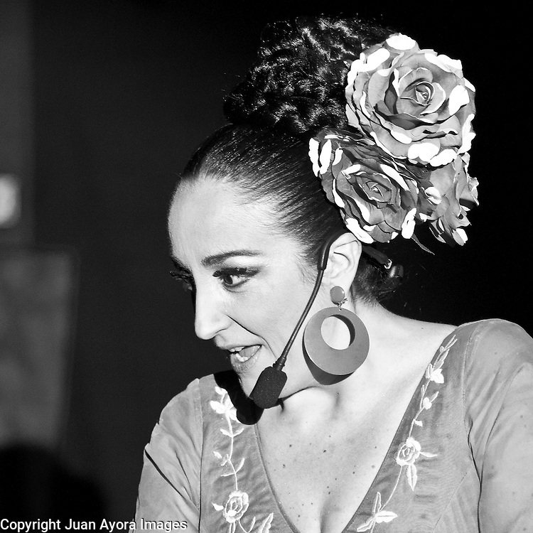 She can sing, she can dance, and she can act... but she can't get rid of her Spanish accent. That's why Inma Heredia is determined to audition for the only director who can make her a star. Filled with fun, flair and flamenco, &quot;My Audition for Almodovar&quot; is a magical, musical, and hysterical journey from the heart of Seville to the small intestine of New York City.<br /> <br /> This one woman show, created and directed by Alberto Ferreras --creator of &quot;Celebrity Habla&quot; currently airing on HBO, and author of the award winning novel &quot;B as in Beauty&quot;-- features the many talents of Inma Heredia, the andalusian actress and singer who has become a staple of the alternative scene in Manhattan.<br /> Photography by: Juan Ayora, Juan Ayora Images