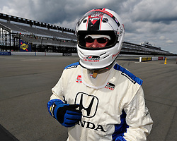 IndyCar racing returns to Pennsylvania on August 23rd, 2015, at Pocono Raceway in Long Pond. Sage Karam and Marco Andretti both of Nazareth competed in the ABC Supply 500 at Pocono Raceway. (Chris Post | lehighvalleylive.com)
