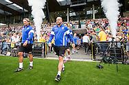 ARNHEM PAPENDAL, eerste training Vitesse, voetbal, seizoen 2015-2016, 28-06-2015, trainingscomplex Vitesse Papendal, opkomst spelers en staf, Vitesse coach Peter Bosz (M).