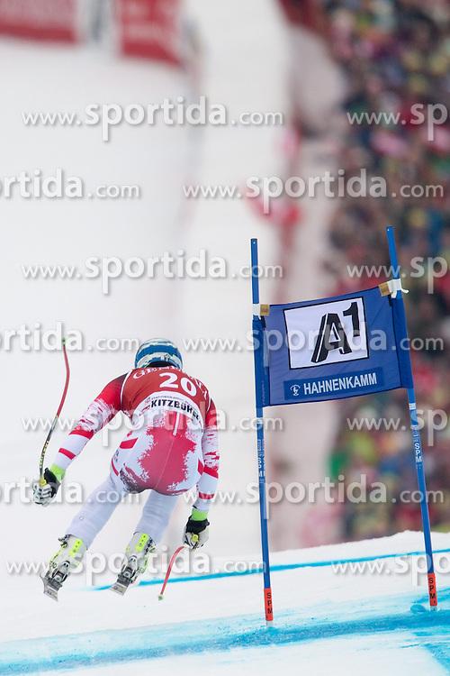 23.01.2015, Streif, Kitzbuehel, AUT, FIS Ski Weltcup, Supercombi Super G, Herren, im Bild Matthias Mayer (AUT) // Matthias Mayer of Austria in action during the men's Super Combined Super-G of Kitzbuehel FIS Ski Alpine World Cup at the Streif Course in Kitzbuehel, Austria on 2015/01/23. EXPA Pictures © 2015, PhotoCredit: EXPA/ Johann Groder