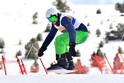 , Banked Slalom at the WPSB_2019 Para Snowboard World Cup, La Molina, Spain