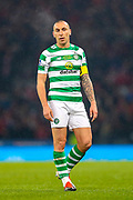 Scott Brown (#8) of Celtic during the Betfred Cup Final between Celtic and Aberdeen at Celtic Park, Glasgow, Scotland on 2 December 2018.