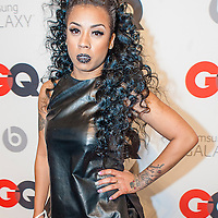 Keyshia Cole posing at the GQ & Lebron James NBA All Star Style party sponsored by Samsung Galaxy on Saturday, February 15, 2014, at the Ogden Museum of Southern Art in New Orleans, Louisiana with live jam session from grammy Award-winning Artist The Roots. Photo Credit: Gustavo Escanelle / Retna Ltd.