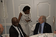 BAZ BAMBIGBOYE, MISAN SAGAY, SID GANIS, The Academy Museum of Motion Pictures hosts a lunch and press briefing about the Museum's<br /> 2019 opening in Los Angeles. The Dorchester<br /> Park Lane,  London. 10 December 2018