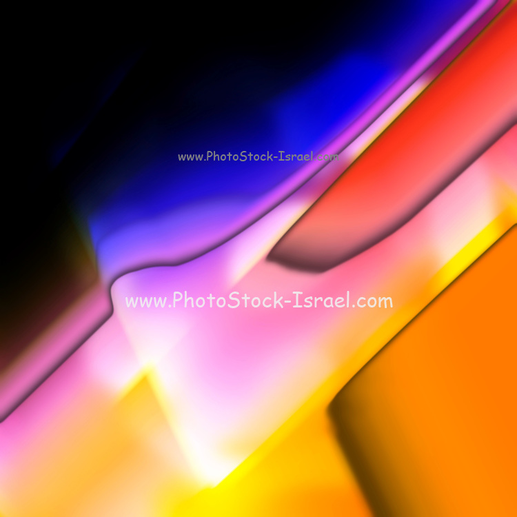 Digitally generated Multicoloured abstract pattern