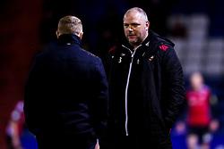 Morecambe manager Jim Bentley- Mandatory by-line: Robbie Stephenson/JMP - 19/02/2019 - FOOTBALL - Boundary Park - Oldham, England - Oldham Athletic v Morecambe - Sky Bet League Two