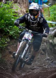 12.06.2011, Bikepark, Leogang, AUT, UCI MOUNTAINBIKE WORLDCUP, LEOGANG, im Bild Downhill Worldcup SMITH Steve, CAN // during the UCI MOUNTAINBIKE DOWNHILL WORLDCUP, LEOGANG, AUSTRIA, 2011-06-12, EXPA Pictures © 2011, PhotoCredit: EXPA/ J. Feichter