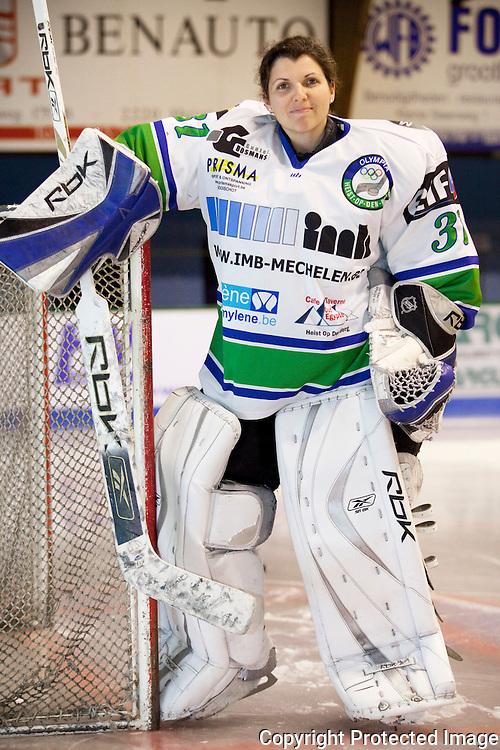 365347-Hockey Goalie van Hockeyclub Heist op den Berg-Kirsten Schönwetter