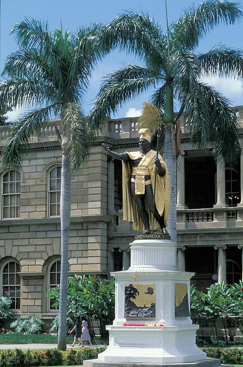 King Kamehameha Statue, Honolulu, Oahu, Hawaii, USA