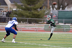 15 November 2014:  Michael Kelley during an NCAA division 3 football game between the North Park Vikingsand the Illinois Wesleyan Titans in Tucci Stadium on Wilder Field, Bloomington IL