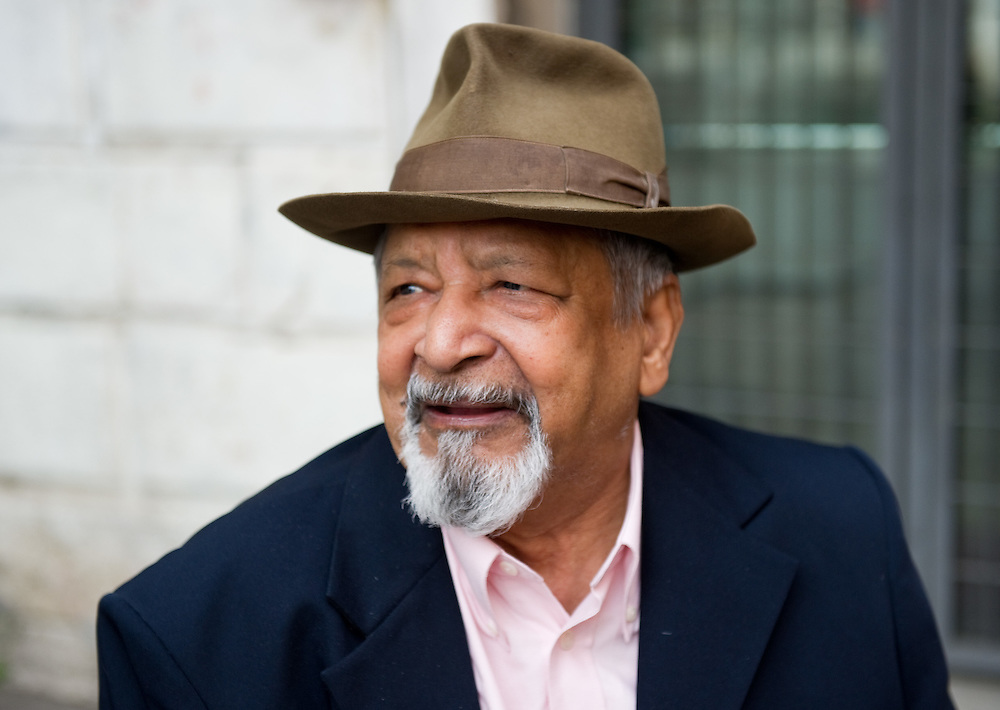 Nobel Prize V S Naipaul poses in Venice ahead of her talk for the Incontri di Civilta'  event ----------------------<br /> Marco Secchi/XianPix<br /> email msecchi@gmail.com<br /> http://www.marcosecchi.com