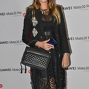 Amber Le Bon attend Huawei - VIP celebration at One Marylebone London, UK. 16 October 2018.