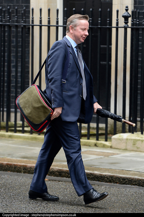 © Licensed to London News Pictures. 01/05/2012. London, UK . Secretary of State for Education, Michael Gove.Cabinet ministers in Downing Street for the Cabinet Meeting on 1st May 2012. Photo credit : Stephen Simpson/LNP