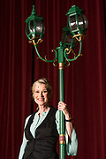 "JULY 8, 2018  LANCASTER, OHIO:<br /> <br /> Actress Jennifer Myers, who has the lead role in the play in ""Hello, Dolly,"" which will be held in the Wagner Theater at Ohio University Lancaster."