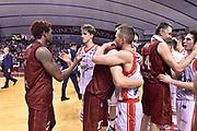 DESCRIZIONE : Venezia Lega A 2014-15 Semifinale Gara 7 Umana Venezia - Grissin Bon Reggio Emilia  <br /> GIOCATORE : <br /> CATEGORIA : post game fair play <br /> SQUADRA : Grissin Bon Reggio Emilia <br /> EVENTO : Campionato Lega A 2014-2015 <br /> GARA : Semifinale Gara 7 Umana Venezia - Grissin Bon Reggio Emilia <br /> DATA : 11/06/2015<br /> SPORT : Pallacanestro <br /> DESCRIZIONE : Venezia Lega A 2014-15 Semifinale Gara 7 Umana Venezia - Grissin Bon Reggio Emilia  <br /> GIOCATORE : Grissin Bon Reggio Emilia <br /> CATEGORIA : post game esultanza <br /> SQUADRA : Grissin Bon Reggio Emilia<br /> EVENTO : Campionato Lega A 2014-2015 <br /> GARA : Semifinale Gara 7 Umana Venezia - Grissin Bon Reggio Emilia <br /> DATA : 11/06/2015<br /> SPORT : Pallacanestro <br /> AUTORE : Agenzia Ciamillo-Castoria/GiulioCiamillo<br /> Galleria : Lega Basket A 2014-2015  <br /> Fotonotizia : Venezia Lega A 2014-15 Semifinale Gara 7 Umana Venezia - Grissin Bon Reggio Emilia