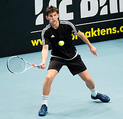 23.10.2016, Stadthalle, Wien, AUT, ATP Tour, Erste Bank Open, Tie Break Tens, Halbfinale, im Bild Dominc Thiem (AUT) // Dominc Thiem of Austria during the semifinal match of the Tie Break Tens of Erste Bank Open of ATP Tour at the Stadthalle in Vienna, Austria on 2016/10/23. EXPA Pictures © 2016, PhotoCredit: EXPA/ Sebastian Pucher