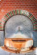 Bäckerbrunnen, Altstadt, Wiesbaden, Hessen, Deutschland | Baeckerbrunnen, Wiesbaden, Hesse, Germany