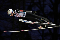 Hopp<br /> FIS World Cup<br /> Wisla Polen<br /> November 2017<br /> Foto: Gepa/Digitalsport<br /> NORWAY ONLY<br /> <br /> WISLA,POLAND,18.NOV.17 - NORDIC SKIING, SKI JUMPING - FIS World Cup, large hill, team event, men. Image shows Johann Andre Forfang (NOR). Photo: GEPA pictures/ Wrofoto/ Piotr Hawalej - ATTENTION - NO USAGE RIGHTS FOR POLISH CLIENTS.