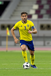 January 11, 2019 - Doha, QATAR - 190111 Sweden's Sotirios Papagiannopoulos during the international friendly football match between Sweden and Iceland on January 11, 2019 in Doha..Photo: Niklas Larsson / BILDBYRÃ…N / kod NL / 44174 (Credit Image: © Niklas Larsson/Bildbyran via ZUMA Press)