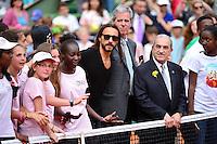 Jean GACHASSIN / Bob SINCLAIR - 23.05.2015 - Tennis - Journee des enfants - Roland Garros 2015<br /> Photo : David Winter / Icon Sport