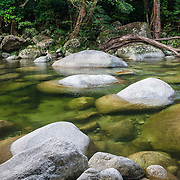 Still water at Mossman Gorge, Daintree Rainforest National Park