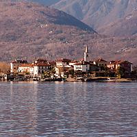 Isola dei pescatori, Fishermen island, Lake Maggiore, Italy